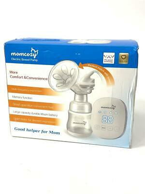 Momcozy Electric Single Breast Pump, Automatic Battery Powered Breast Pump