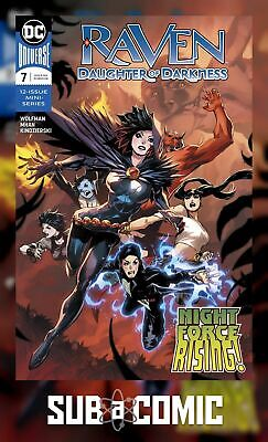 RAVEN DAUGHTER OF DARKNESS #7 (DC 2018 1st Print) COMIC