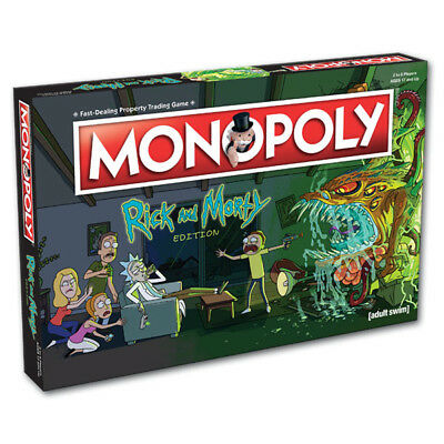 Monopoly - Rick and Morty Edition