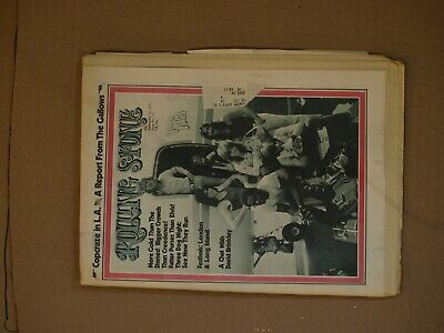 Rolling Stone Magazine Issue # 117------September 14Th, 1972----3 Dog Night Cove