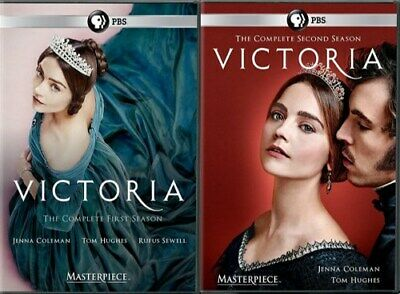 VICTORIA TV SERIES COMPLETE SEASONS 1 + 2 New Sealed DVD