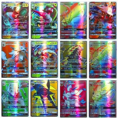 Pokemon Card Bundle GX MEGA EX Flash Trading Cards Portfolio Folder Xmas Gift UK