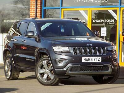 2015 65 Jeep Grand Cherokee 3.0 V6 Crd Overland 5Dr Auto (250) Diesel