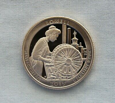 2019-S Lowell Clad Proof National Parks Quarter Cameo
