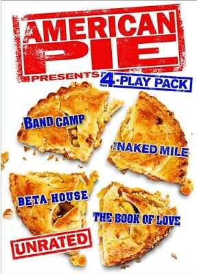 AMERICAN PIE 4 PLAY PACK Sealed DVD Band Camp Naked Mile Beta House Book of Love