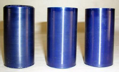 3 Antique Christmas Theme Edison Blue Amberol Phonograph Cylinder Records