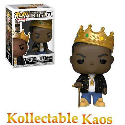 Notorious B.I.G. - Notorious B.I.G. with Crown Pop! Vinyl Figure #77