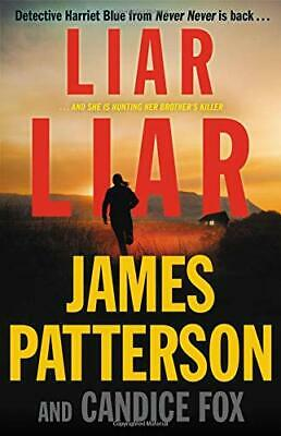 Liar Liar Harriet Blue James Patterson Hardcover Book 3 First Edition TOP SELLER