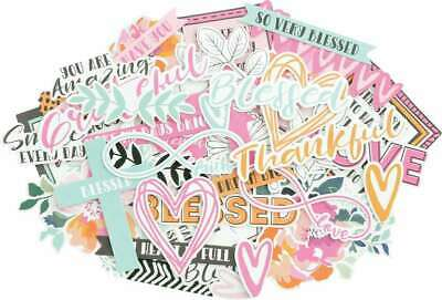 Kaisercraft Collectables Cardstock Die-Cuts Blessed 883416059523