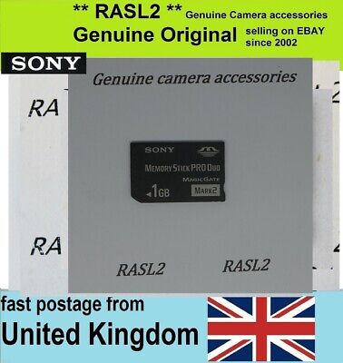 Genuine Original SONY MS-MT1G GN Memory Stick Pro Duo 1GB Memory Card 1 GB