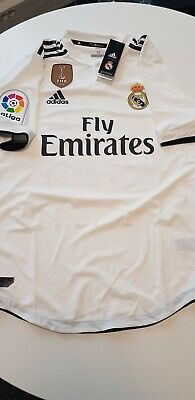 differently 1b3b3 ee996 REAL MADRID CF Home Jersey Authentic Adidas Player Issue 2018/19 Size M #22  Isco
