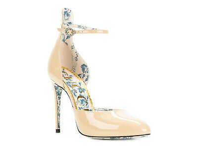 4d4333311 Gucci womens high heels pumps shoes in sand patent leather Size US 10.5 -  IT 40½