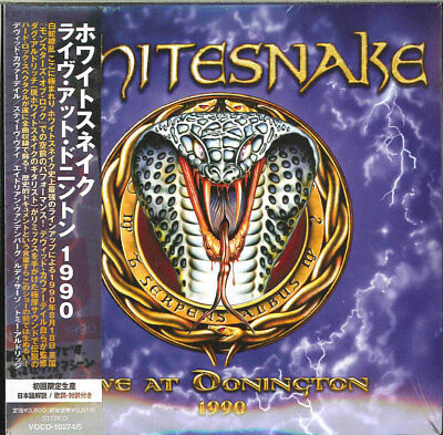 WHITESNAKE-LIVE AT DONINGTON 1990-JAPAN 2 MINI LP CD Ltd/Ed I50