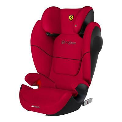 Cybex Kindersitz Solution M-Fix SL Racing Red NEU