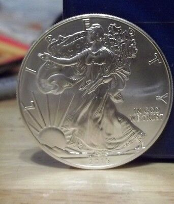 2015 US Mint American Eagle Coin .999 fine silver Uncirculated