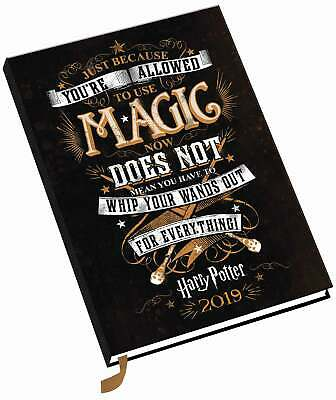 Harry Potter A5 Diary 2019 Entertainment Week To View New