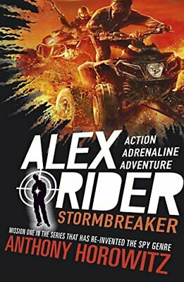 Stormbreaker (Alex Rider) New Paperback Book Anthony Horowitz