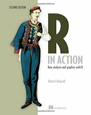 R in Action: Data Analysis and Graphics with R New Paperback Book Robert Kabacof