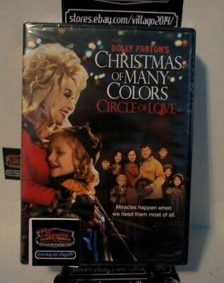 Dolly Partons Christmas of Many Colors: Circle of Love  NEW DVD FREE SHIPPING!!