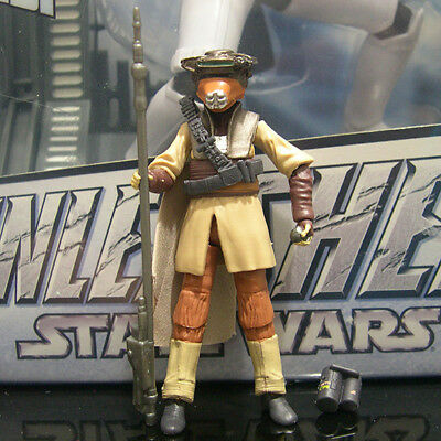 "STAR WARS black series PRINCESS LEIA boushh 3.75"" ROTJ tbs #17"