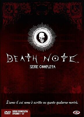 Dvd Death Note - The Complete Series (Eps 01-37) (5 Dvd)