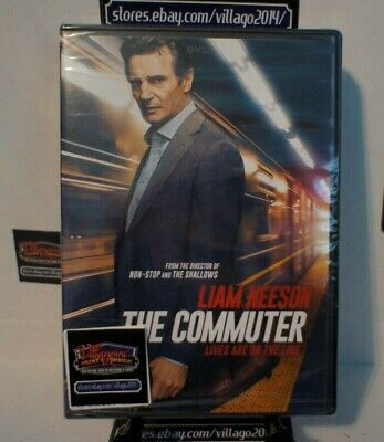 The Commuter   NEW DVD FREE SHIPPING!!