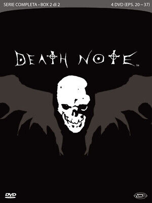 Dvd Death Note - The Complete Series Box #02 (Eps 20-37) (4 Dvd)