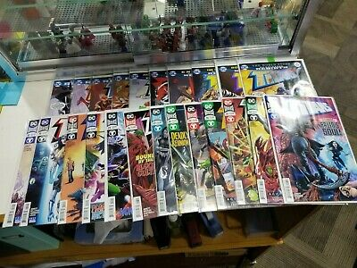 Titans DC Rebirth Complete Run Set Lot of 23 Different Issues