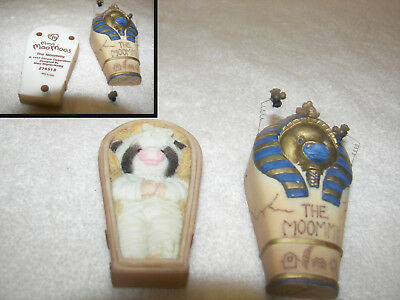 """MARY'S  MOO MOOS  """"The Moommy""""  Mummy Cow  makes scream sound  2 pc #274518"""
