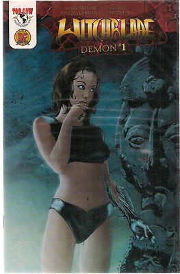 WITCHBLADE Demon #1 (2003) Top Cow DF Comics limited edition certificate FINE+