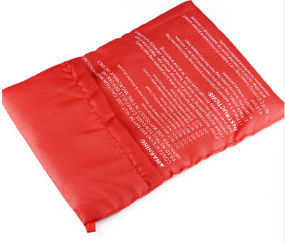 1PC  Red Washable Cooker Bag Baked Potato Microwave Cooking Potato