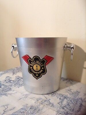 Vintage French Bollinger Champagne Ice Bucket (2753)