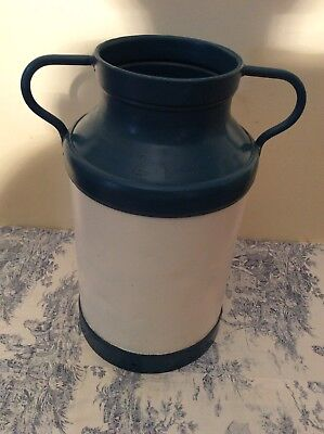 Vintage French Decorated Milk Churn - Hand Painted (2340)