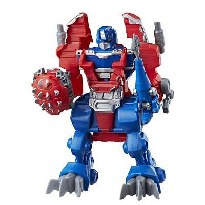 Playskool Heroes Tra Rbt Night Watch Optimus Prime Figures and Playset