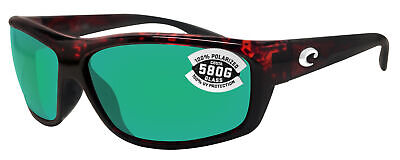 fb9d06767c0 Costa Del Mar Saltbreak Tortoise Frame Green Mirror 580G Glass Polarized  Lens
