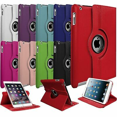Leather 360 Degree Rotating Stand Case For APPLE iPad 2nd 3rd & 4th Generation