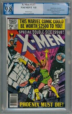 Uncanny X-Men #137 Pgx 9.8 1980 Death Of Phoenix Not Cgc Marvel Comics Movie