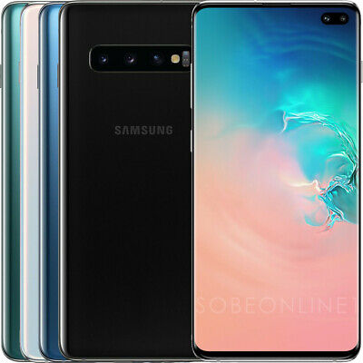 "Samsung Galaxy S10+ Plus SM-G975F/DS 128GB (FACTORY UNLOCKED) 6.4"" 8GB RAM DUAL"
