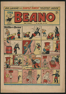 Beano #456, Apr 14Th 1951, Very Nice Condition