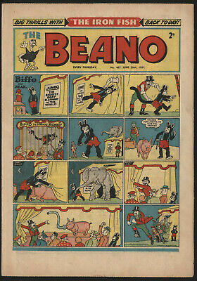 Beano #467, June 30Th 1951, Very Nice Condtion
