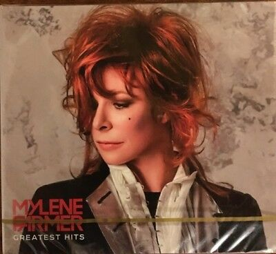 "Mylene Farmer ""Greatest Hits""New  Double Cd Digipack Neuf !"