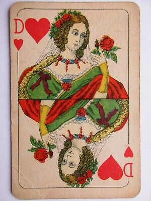 Walter Scharff. Antikes Kartenspiel. Great antique playing cards. Germany.