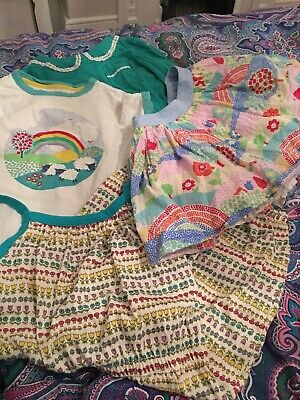 Little Bird Bundle 2-3, Green White, Tops, Skirt Jumpsuit