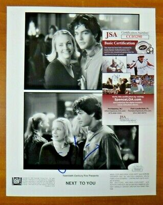 Adrian Grenier Next To You Entourage Signed 8x10 Photo with JSA COA