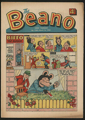Beano #1389, Mar 1St 1969, High Grade Copy