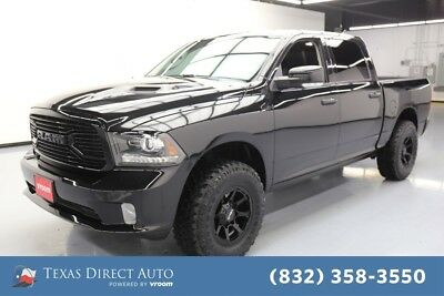 2018 Ram 1500 Sport Texas Direct Auto 2018 Sport Used 5.7L V8 16V Automatic 4WD Pickup Truck