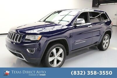 2015 Jeep Grand Cherokee Limited Texas Direct Auto 2015 Limited Used 3.6L V6 24V Automatic 4WD SUV