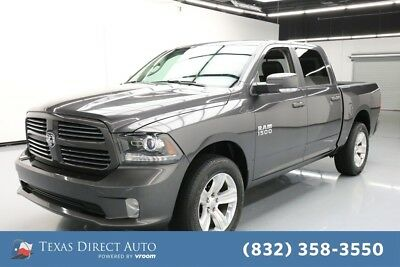 2017 Ram 1500 Sport Texas Direct Auto 2017 Sport Used 3.6L V6 24V Automatic 4WD Pickup Truck