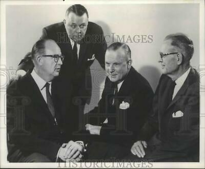 1968 Press Photo Four Murphy brothers of Gateway Transporation Company, Inc.