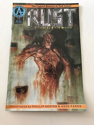 Rust #1 (Malibu 1992) 1st Preview of SPAWN by Todd McFarlane